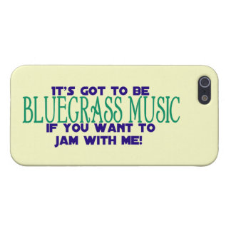 It's Got to Be Bluegrass Music Cover For iPhone SE/5/5s