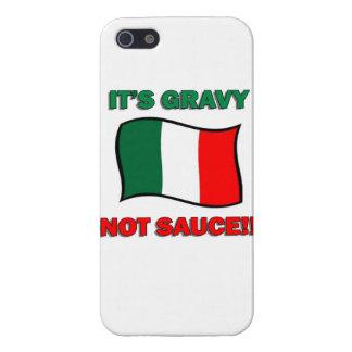 It's Gravy not sauce funny Italian Italy pizza tom iPhone 5 Covers