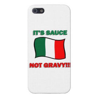 It's Gravy not sauce funny Italian Italy pizza tom iPhone 5 Case