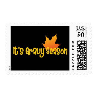 It's Gravy Season Postage