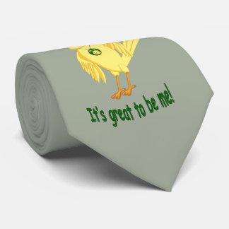 It's Great To Be Me tie. Neck Tie