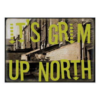 It's Grim Up North Poster