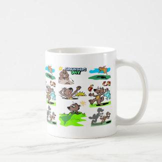 """IT'S GROUNDHOG DAY AGAIN!"" COFFEE MUG"