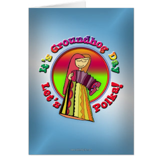 It's Groundhog Day! Card