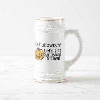 Its Halloween Lets Get Smashed Coffee Mug
