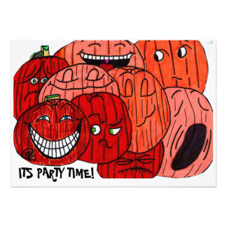 IT'S HALLOWEEN PARTY TIME invitation