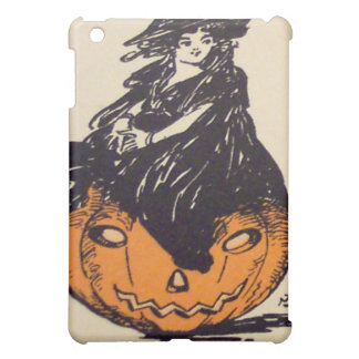 It's Halloween! (Vintage Halloween Card) iPad Mini Cases