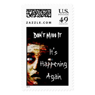 It's Happening Again Postage Stamp