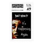 It's Happening Again Stamp