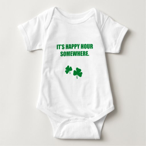 IT'S HAPPY HOUR SOMEWHERE T SHIRTS