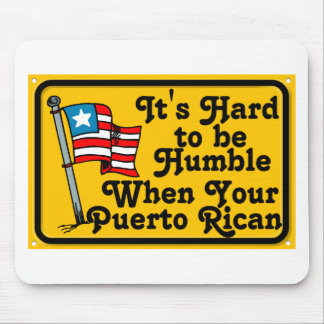 Its hard to be humble mouse pad