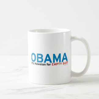 It's Hawaiian for Empty Suit Mug