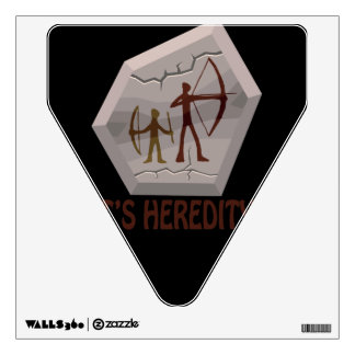 Its Heredity Wall Decal