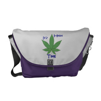 It's High Time Courier Bag