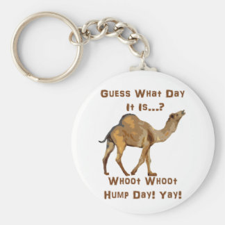 Its Hump Day Basic Round Button Keychain