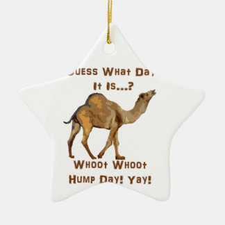 Its Hump Day Christmas Tree Ornament