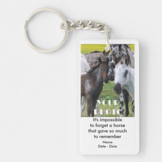 It's Impossible (Horse) Pet Memorial Keychain