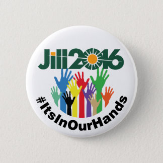 It's In Our Hands Pinback Button