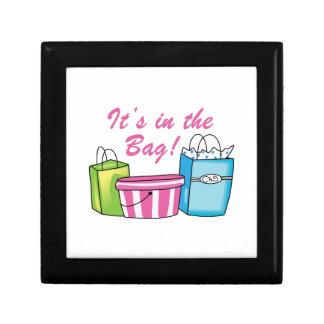 It's In The Bag! Trinket Box