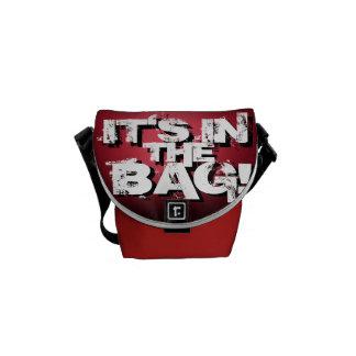 """""""It's In The Bag!"""" Mini Shoulder Bag Version Courier Bag"""