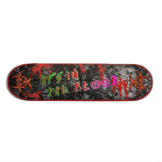 It's In The Blood [Series 1] Blood Red Skateboards