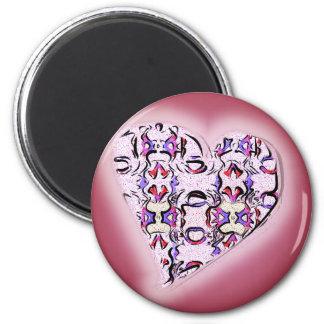 It's In The Heart Fridge Magnet