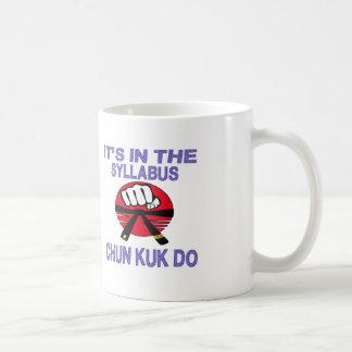 It's in the syllabus Chun Kuk Do. Coffee Mug