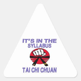 It's in the syllabus Tai Chi Chuan. Triangle Stickers
