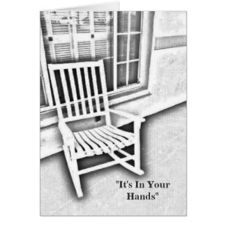 It's In Your Hands Card