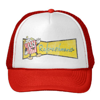 It's Intermission Time - Pop Corn and Refreshments Trucker Hat