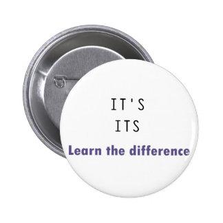 It's Its Grammar Button