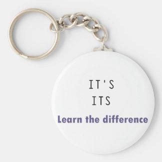 It's Its Grammar Key Chains