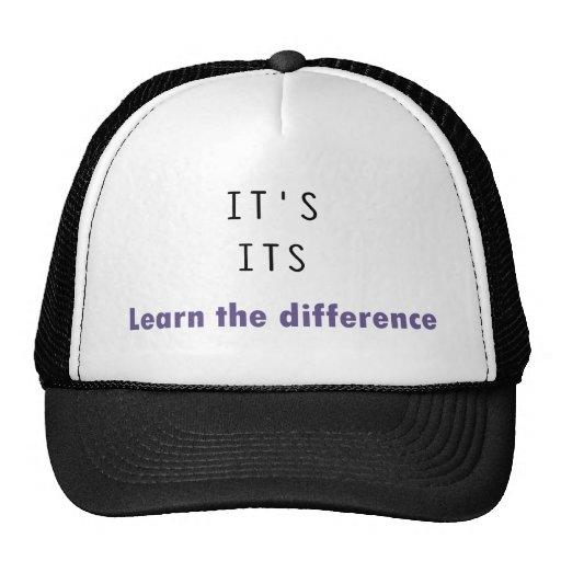 It's Its Grammar Mesh Hat