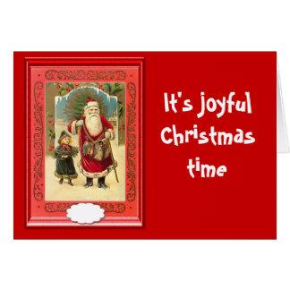 Its joyful Christmas time Card