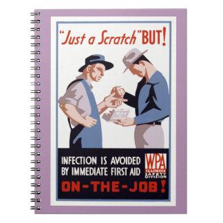 It's Just a Scratch - But! Notebook