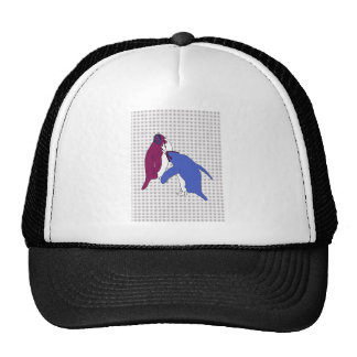 It's Just Purple and Blue Trucker Hat