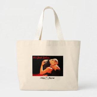 It's Just Salsa Arthur Murray - Cu... - Customized Large Tote Bag