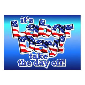 Its Labor Day Invitation