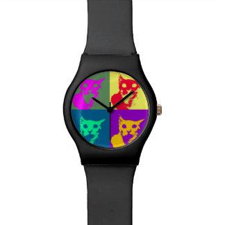It's Lance's pop-art on a funky watch! Wristwatch