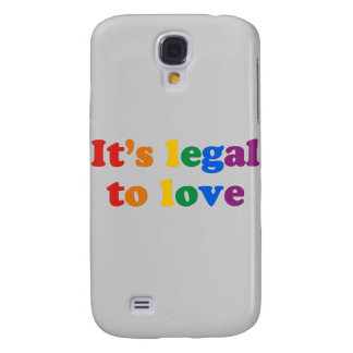 It's legal to love samsung galaxy s4 covers