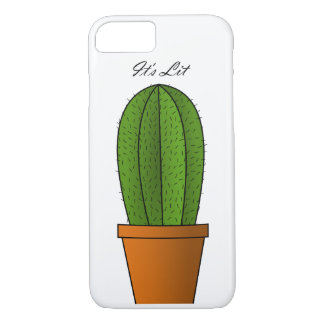 It's Lit Cactus iPhone 7 Phone Case