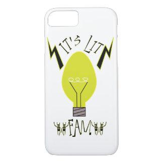 It's Lit Fam! (black fill) iPhone 8/7 Case