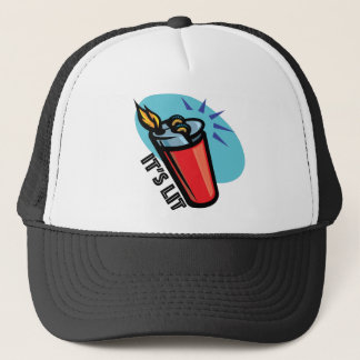 It's-Lit-retro-lighter Trucker Hat