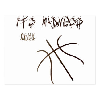 It's Madness Postcard