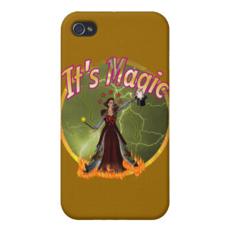 It's magic  case for iPhone 4