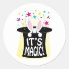 Its Magic Classic Round Sticker