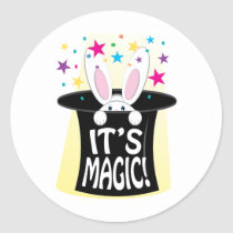 Its Magic Classic Round Sticker