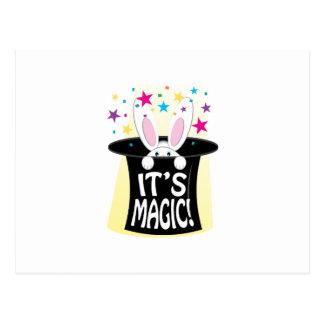 Its Magic Postcard
