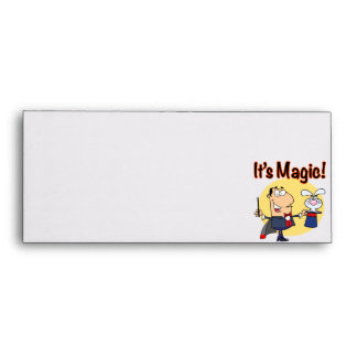 its magic silly magician envelope