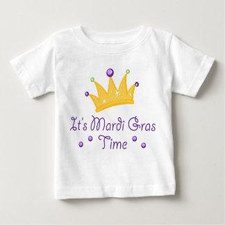 It's Mardi Gras Time Baby T-Shirt